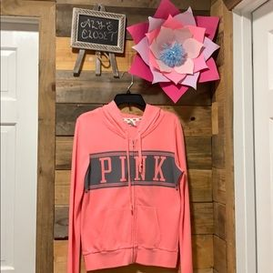 pink sweater size s